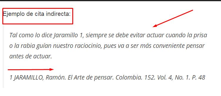 Citas bibliográficas Colombia