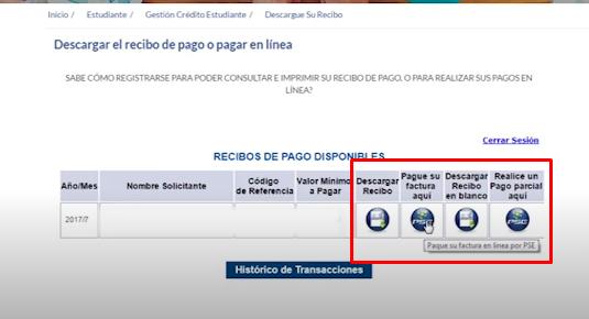 Cómo consultar el estado de cuenta ICETEX