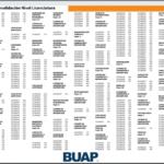 Consultar los Resultados de admisión BUAP