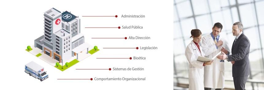 áreas de acción de un máster en administración de hospitales