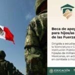 Beca de apoyo a la manutención para hijos de militares en las Fuerzas Armadas