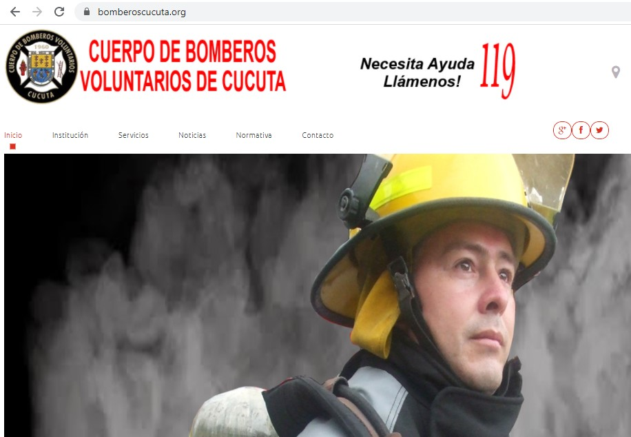 certificado de bomberos