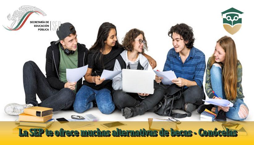 convocatoria Becas de educación para el SEP 2021