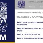 Maestrías en línea UNAM ¿Cuáles son las opciones?