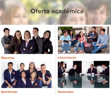 oferta académica de ieu online
