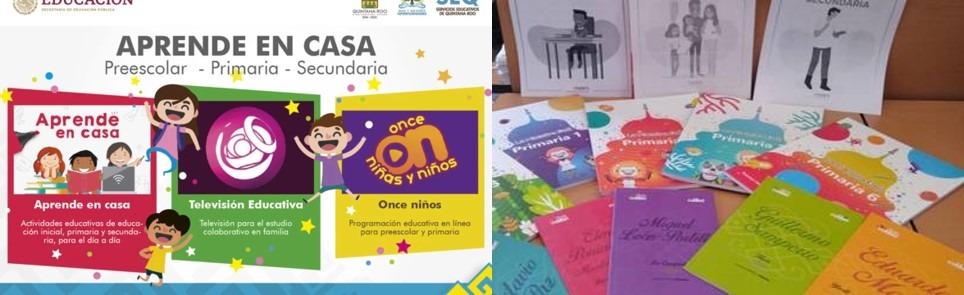 SEP y Conafe entregan material para el programa Aprende en Casa